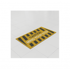 Removable Vinyl Floor Stickers -1000mm x 500mm