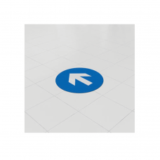 Removable Vinyl Floor Stickers - 300mm Circle
